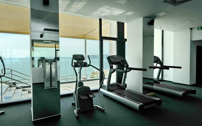 Fitness részleg